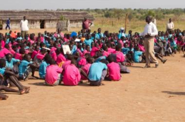 Airport View School i Torit i Sydsudan