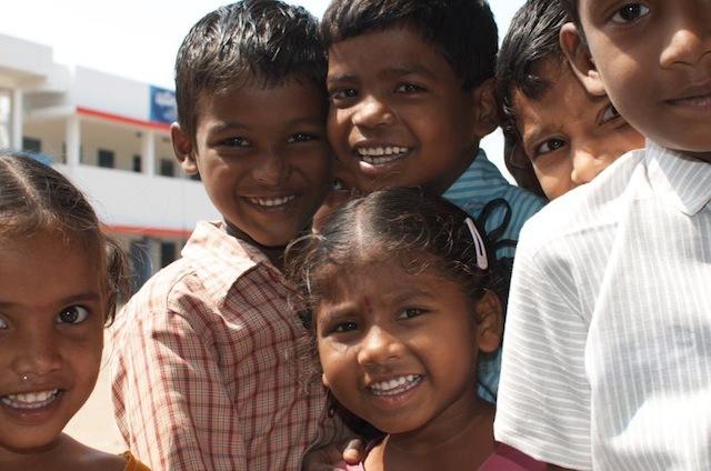 Indien_barn på gården