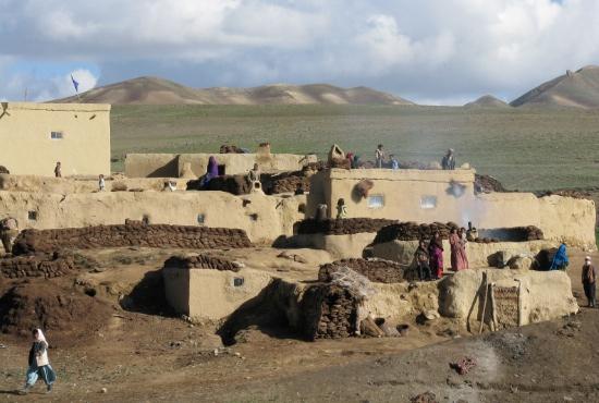 Afghanistan_projektsidan_By som fått utvecklingshjälp