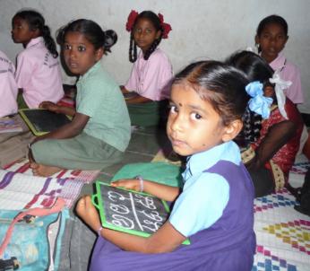 De flesta av barnen på Bethania Residential School skulle inte ha råd att gå i skola utan sponsoreringen.
