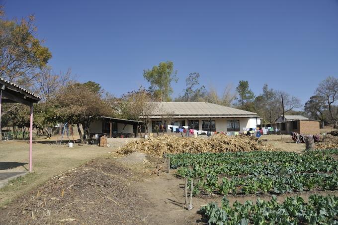 Missionsstationen Nyadire ligger ute på Savannen i Zimbabwe.