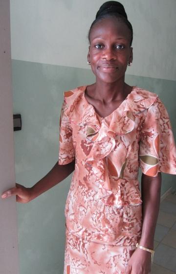 Germaine Hessou arbetar som huvudansvarig sjuksköterska på Hälsocenter Agla. Hennes vision är att hälsocentrets arbete ska förbättras och kapaciteten öka.