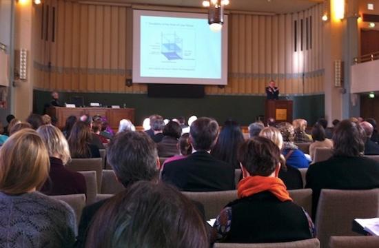 Många medborgarorganisationer från hela Finland samlades till medborgarorganisationsseminariet i Börshuset i Helsingfors.