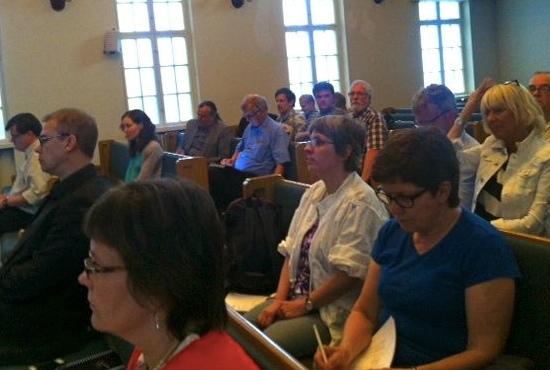 Uppslutningen till mötet var god, ombud från fem av sex medlemsorganisationer deltog.