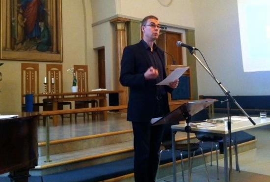 FS:s ordförande Jan Edström höll ett inledande anförande om frikyrkans roll i ett förändrat samhälle.