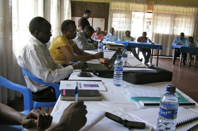 24 deltagare var med på ledarkursen som hölls i Bujumbura, Burundi, i april.