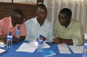 Undervisningen som lyftes fram i Bujumbura ansågs aktuell och viktig bland deltagarna.