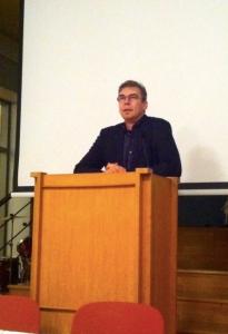 Jan Edström återvaldes till ordförande för FS för de två kommande åren. Foto: Laila Saleh