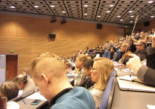 Medborgarorganisationsseminariet hölls på Hanaholmen i Esbo 20 mars. Foto: Laila Saleh