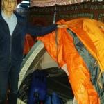 Här har Bjarne och Ture tillbringat natten till söndag