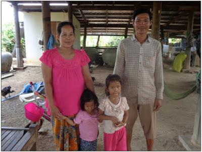 Soth Sraeng kan försörja sin familj i hemlandet