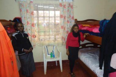 Uppskattat yrkesskoleinternat i Kenya